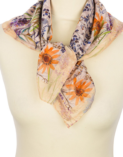 Foulard en coton ''Field Flowers''