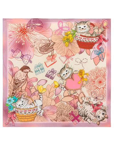 Foulard en coton ''Kitties''