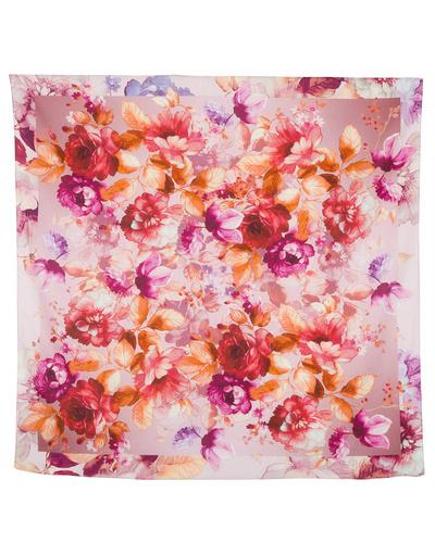 Cotton head scarf ''Flower Energy''