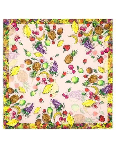 Cotton head scarf ''Funny Fruies''