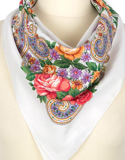 Cotton head scarf ''Marousia''
