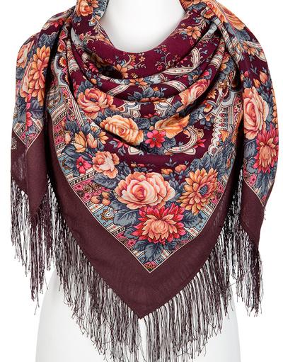 Châle russe en laine ''Carmelita''