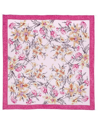 Silk shawl ''Scent of Spring''