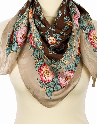 Silk shawl ''Serenity''