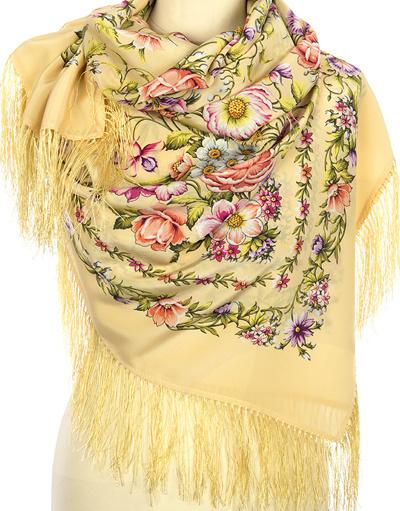 Châle en soie ''Blossoming Spring''