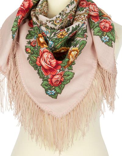 Wool shawl ''Tender affection'''
