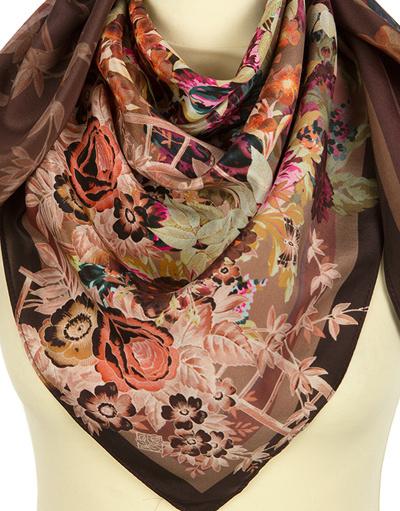 Silk shawl ''vintage''