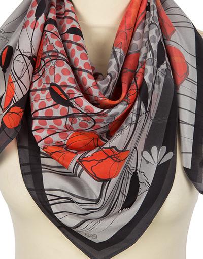 Silk shawl ''Poppies''