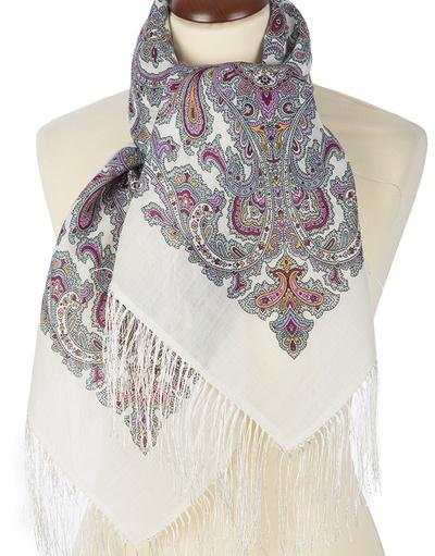 Wool shawl ''Warding Charm''