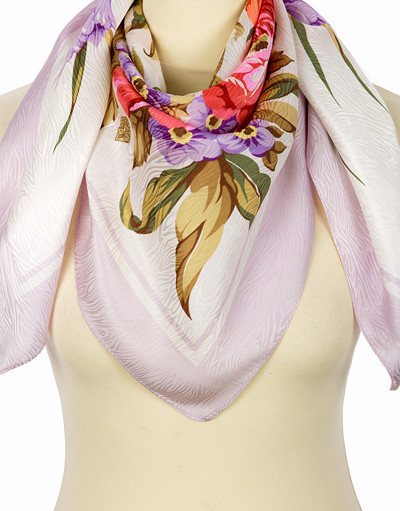 Silk shawl ''Kiss of the Sun''