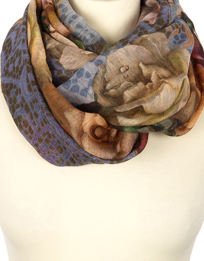 Shawl Wrap ''Royal Roses''