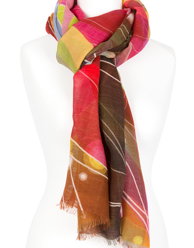 Shawl Wrap ''Flames''
