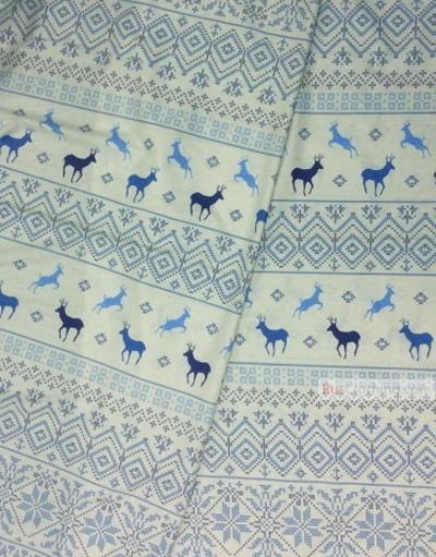 Tissu d'art folklorique au metre ''Deer''}