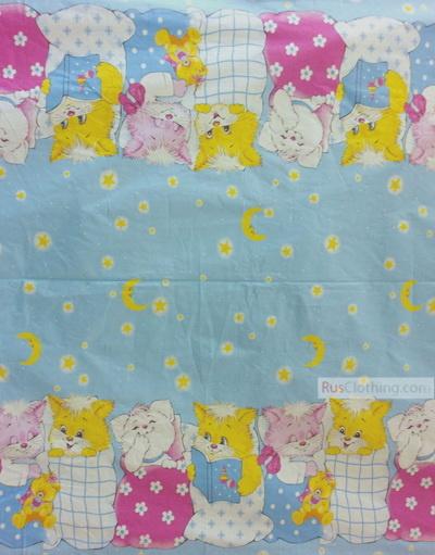 Tissu pour bébé au metre ''Bedtime Story''}