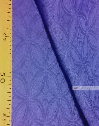 Linen Jacquard Fabric ''the pattern in the circle ''