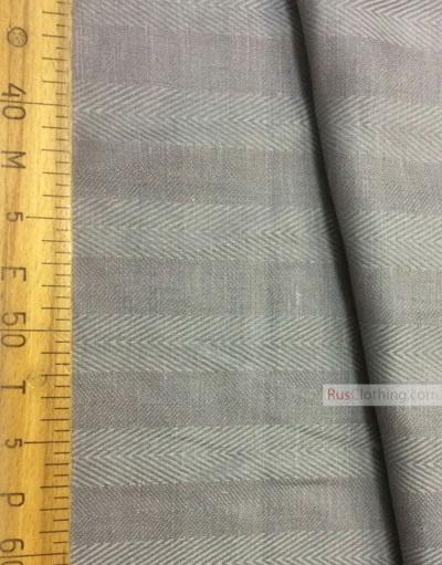 Linen Jacquard Fabric ''Herringbone ''