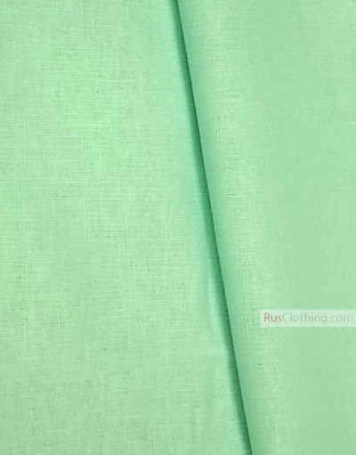 Linen fabric from Russia ''Minty ''