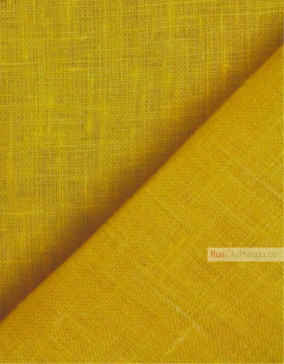 Linen fabric from Russia ''Amber ''