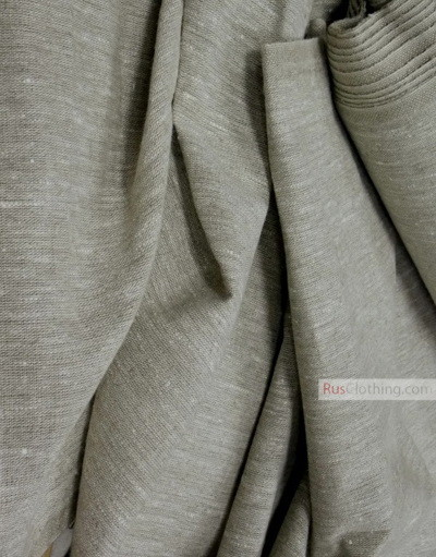 Linen fabric from Russia ''unbleached ''