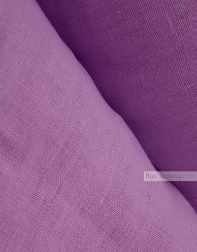 Tissu lin de Russie ''Lilac''