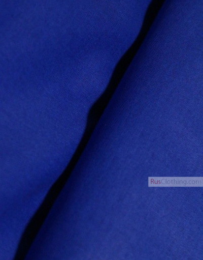 Linen fabric from Russia ''Cornflower ''