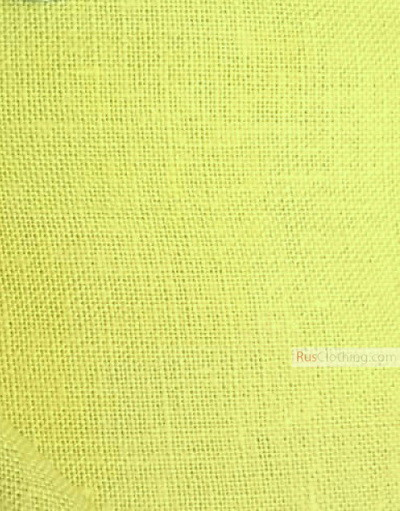 Linen fabric from Russia ''Pear ''