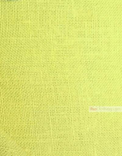 Tissu lin de Russie ''Pear''