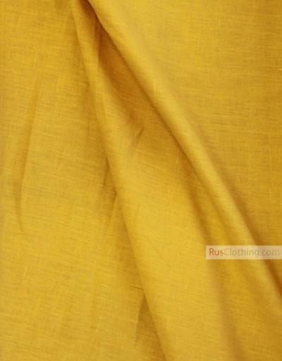 Tissu lin de Russie ''Light Mustard''