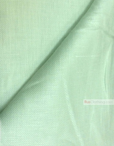 Linen fabric from Russia ''Green Tea ''