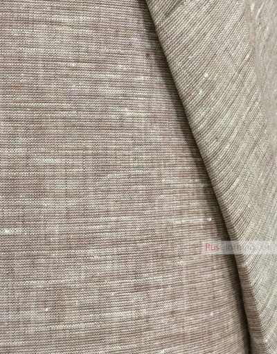 Linen fabric from Russia ''White Chocolate ''