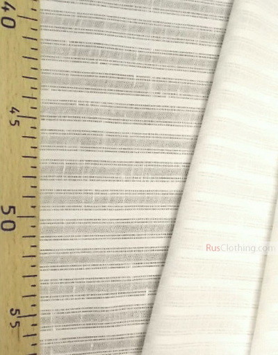 Linen fabric from Russia ''Strip ''