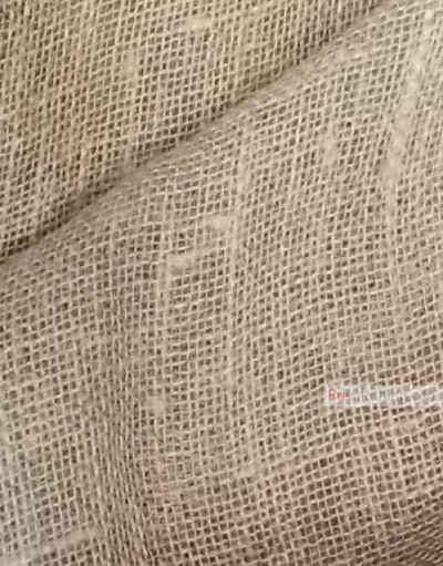 Linen fabric from Russia ''Natural, unbleached ''