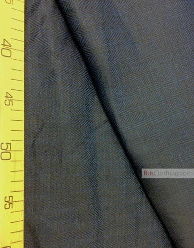 Linen fabric from Russia ''Herringbone ''