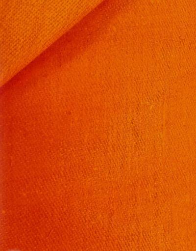 Linen fabric from Russia ''Orange ''