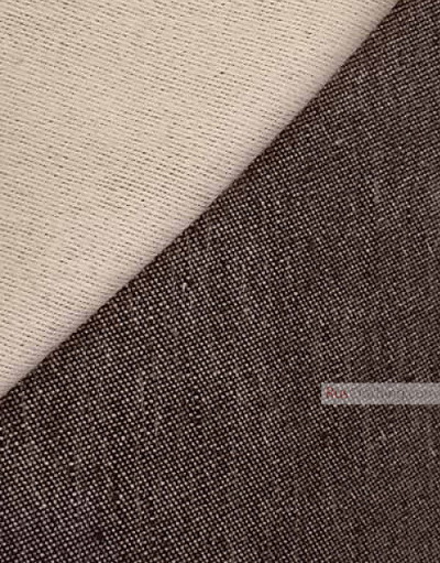 Linen fabric from Russia ''Anthracite ''