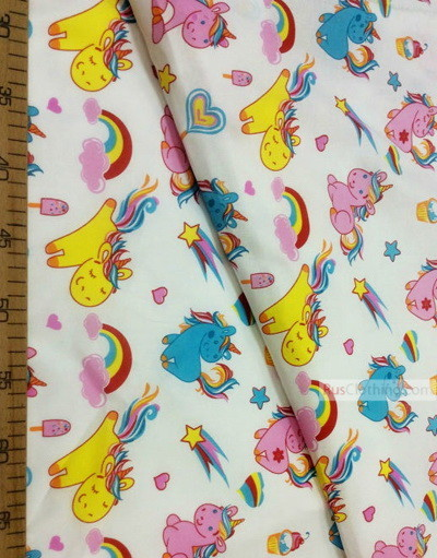 Baby Materials by the Yard ''Unicorn Among The Clouds''}