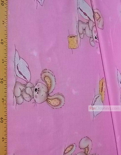 Kids Fabric by the Yard ''Sikina Pillow In Pink''}