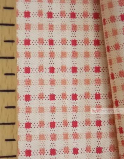 Geometric Print Fabric ''Small Square''}