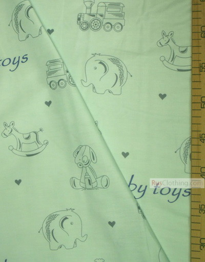 Nursery Fabric by the Yard ''Children's Toy''}