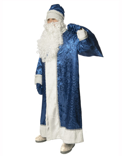 Russian Santa costume Blue