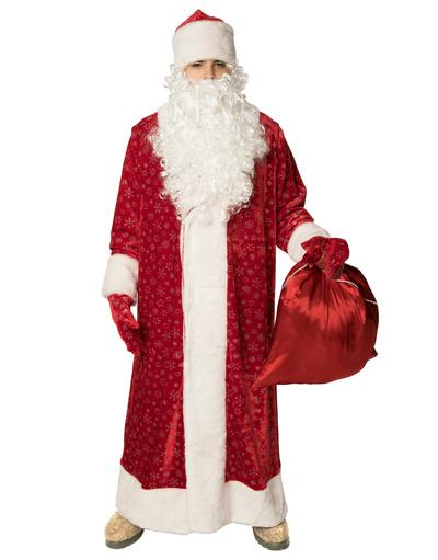 Costume Père Noël russe en velvet