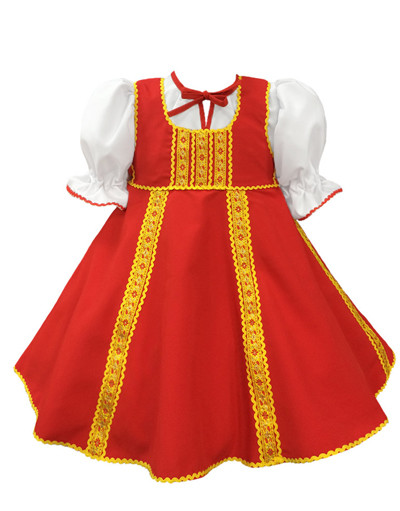 Russian dance costume ''Polinka''