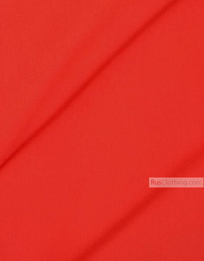 Viscose Fabric by the yard ''Scarlet''}