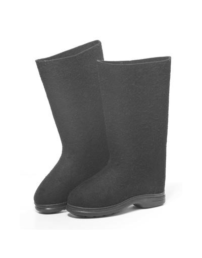 Russian Felt Boots Valenki Black (Men size)
