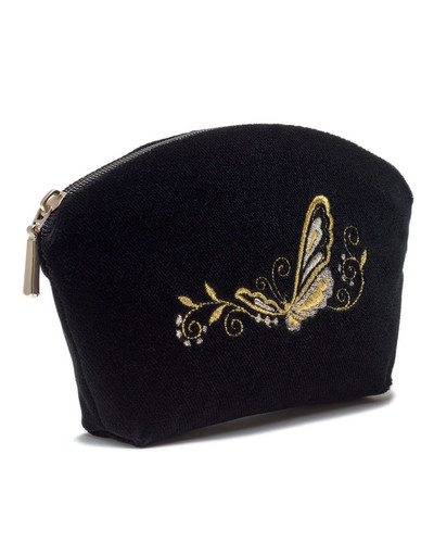 Embroidered Purse ''Butterfly''}