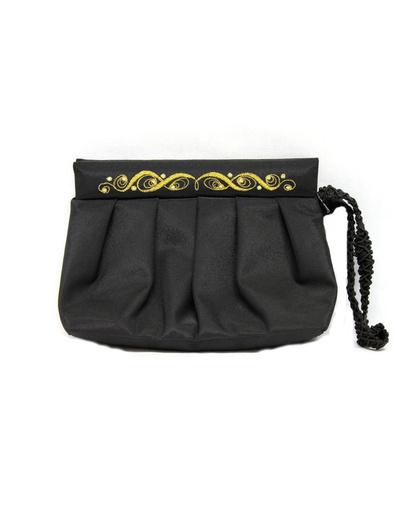 Black Evening Bag ''Breeze''}