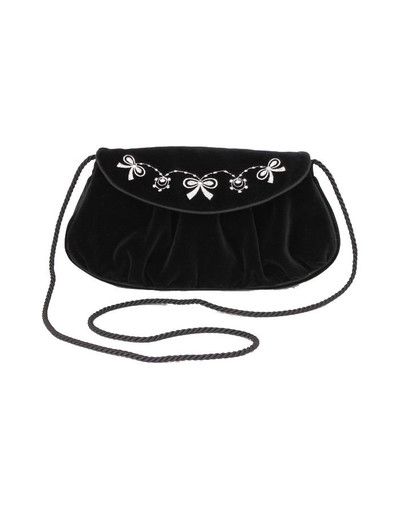 Small Black Evening Bag ''Bantik''}