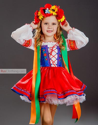 Ukrainian dance dress girls