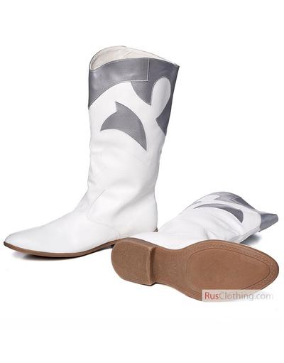Folk dance ballet boots