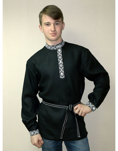 Russian embroidered shirt